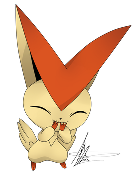 Victini by GusGs