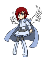 Blue Angel Ruby by LunarisFuryAileron