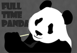 Full Time Panda by Vitora