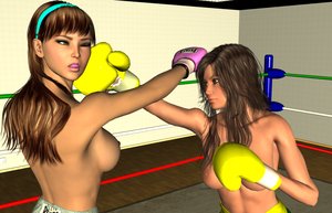 Random KO: Vera vs Lilly 004 by chuy9502