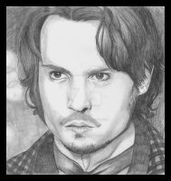 Johnny Depp by JLafleurArt