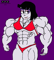 Bodybuilder Lydia by TheFranksterChannel