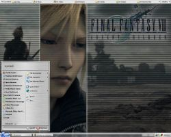 FFVII AC Desktop Screenshot by zerwell