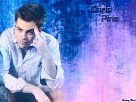 Chris Pine by BritneyBlack