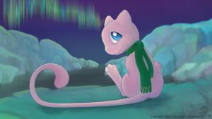 Arctic Mew by CanineHybrid