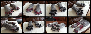 Okami Handpaws by CuriousCreatures