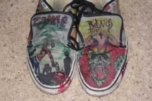 Bono's shoes by decaymyfriend