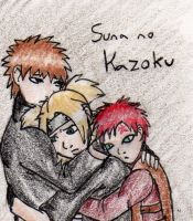 Naruto- Family of the Sand by sushi1382