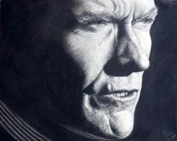 Clint Eastwood by dreerose