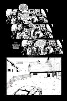 Hired Gun: FCBD page 5 by project4studios