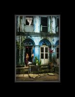 Yangon feeling - the street by ophius