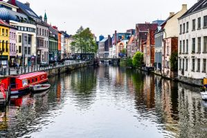 Gent on the water by Rikitza