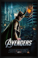 The Avengers: Loki   Theatrical Poster by Squiddytron