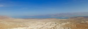 Dead sea form the mesada , israel by justrussian