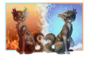 The Hot and the Cold by Bluefire-kitteh