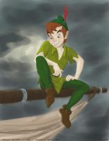 Disney Painting: Peter Pan by Rachel1987