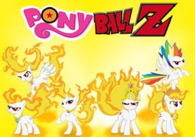 Ponyball Z by TheAljavis