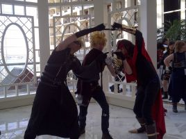 Final Fantasy Photoshoot Katsucon 2012 by VocaloidBrit