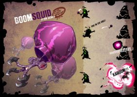Boom Squid by am-bearre