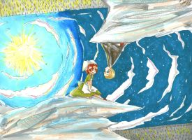 CROSSOVER Hetalia and Upside Down --formywatchers by waccidot-com