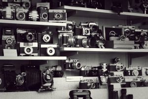 old cameras by exbboy