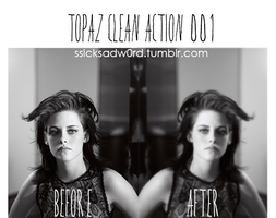 Topaz Clean action 001 by JanieEsposaDeBieber