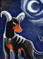 +Night of the Houndoom+ by Lovely-Autumn