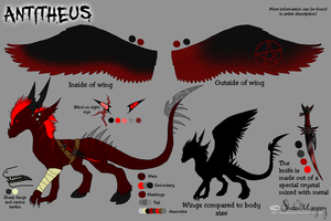 Antitheus Ref sheet by ShadowXEyenoom