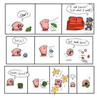 Kirby comics by Torkirby
