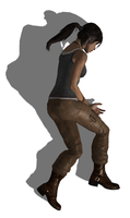 Lara Croft (Reboot) Fallen 4 by FallenParty