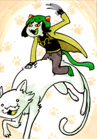 Troll Cards: Nepeta by saffronscarf