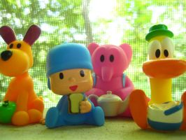 Pocoyo and Friends: Porch by joshmb509