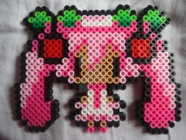 Cherry Blossom Miku by PerlerHime