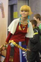 Skyward Sword Zelda by GlamForUs