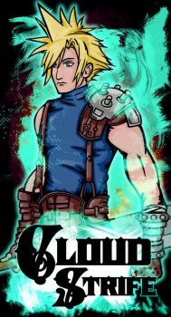 Cloud Strife by beanzomatic