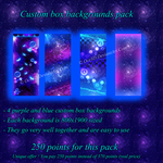 Custom box background adoptables pack by Oce3D-Rainbow