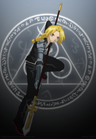 .Edward Elric. by Els-e