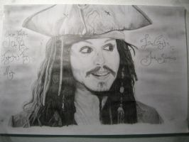 Jack Sparrow by BuggerWhat