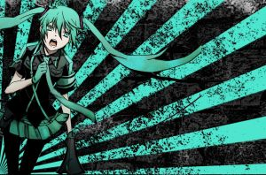 FREE! Hatsune Miku Love is War Wallpaper by temarisgiantfan101