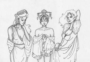 The Ladies of History by frizzymissizzy