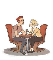 Cafe hangout by SnuffyMcSnuff