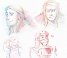 thor face by blargberries