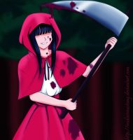 Little red riding hood xD by Mari-m-Rose