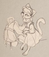 20.01.13__the kitty tailor by MoonLightRose17