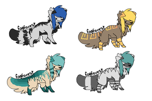 Adopts 4 by LeveButt