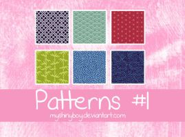 Patterns .01 by MyShinyBoy