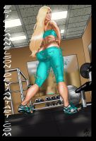 Coco at the Gym Part 1 by ericalannelson