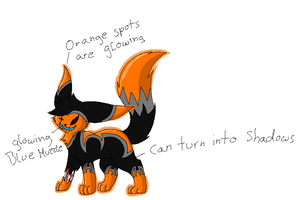 Halloween Chrissie ref by TwilightTheEevee