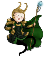 Little Loki by dancinghamtoro