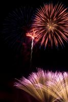 2009 fireworks 3 by AmblingPhotographer